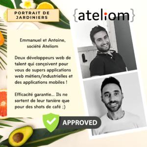 Ateliom_développement_web_applications_mobiles_Annecy_La_Jardinerie_Coworking